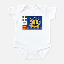 St. Pierre & Miquelon Infant Bodysuit