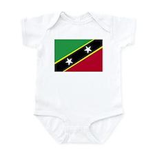 St. Kitts & Nevis Infant Bodysuit