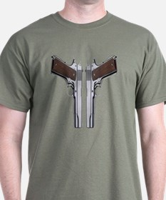 Back To Back 1911's T-Shirt