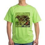 Adopt A Dog! Green T-Shirt