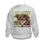 Adopt A Dog! Kids Sweatshirt