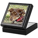 Adopt A Dog! Keepsake Box