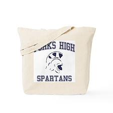 Forks High Spartans Tote Bag