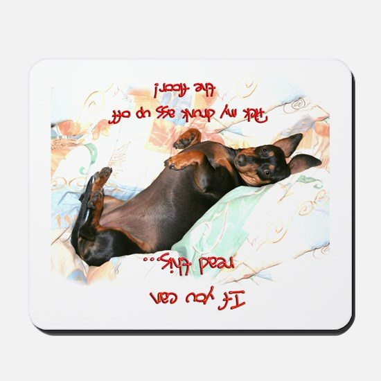 Read This Mousepad