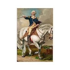 """""""George Washington"""" Rectangle Magnet"""