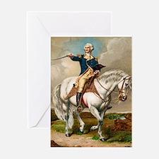 """George Washington"" Greeting Card"