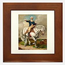 """""""George Washington"""" Framed Tile"""