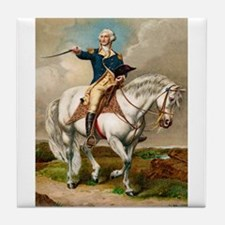 """George Washington"" Tile Coaster"