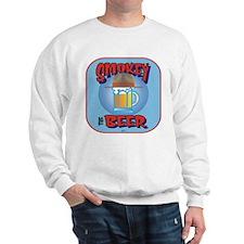 Smokey the Beer Blue Sweatshirt