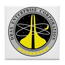 Drax Enterprise Corporation Tile Coaster