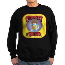 Smokey the Beer Yellow Sweatshirt