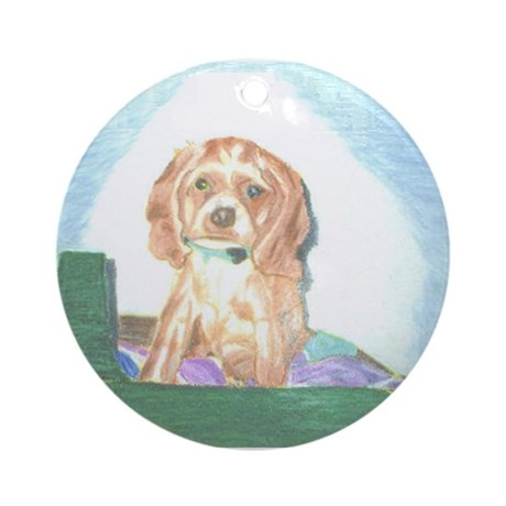 Casey Ornament (Round)