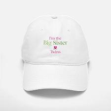 Big Sister of Twins Baseball Baseball Cap