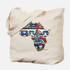 Ndebele Girl Tote Bag