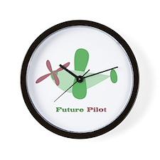 FUTURE PILOT Wall Clock