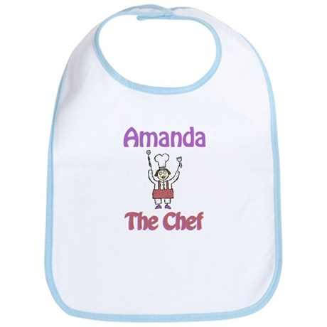 Amanda - The Chef Bib