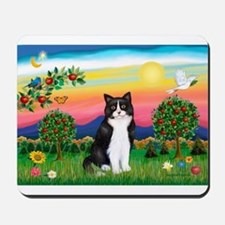 Bright Country / (B&W) Cat Mousepad