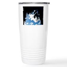 Palm Tree & Cloud Travel Coffee Mug