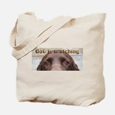 Boykin Spaniel Eyes are Watching Tote Bag