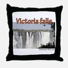Unique Victoria falls Throw Pillow