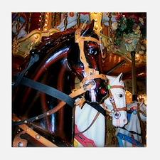 Carousel Horse Tile Coaster