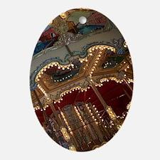 Carousel Oval Ornament