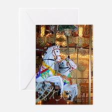 Carousel Greeting Card