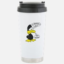 MOMMY!! Hockey Season's Over!! Travel Mug