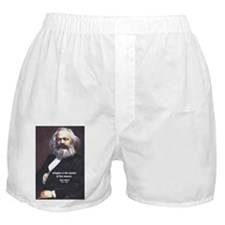 Karl Marx Religion Opiate Masses Boxer Shorts