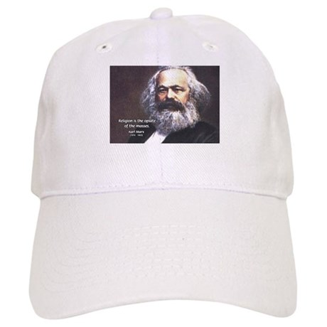 Karl Marx Religion Opiate Masses Cap