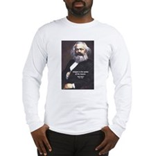 Karl Marx Religion Opiate Masses Long Sleeve T-Shi