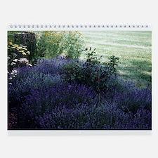 Flower Garden Wall Calendar