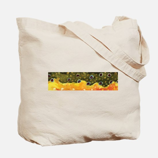 Brook Trout Skin Tote Bag