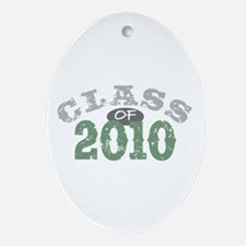 Grad 2010 Oval Ornament
