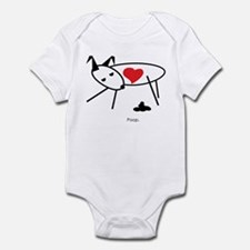 4 LOVE of Z DAWG Infant Bodysuit