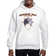 hanalei bay hawaii Hoodie