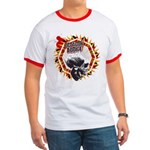 Octagon Addict MMA Ringer Shirt