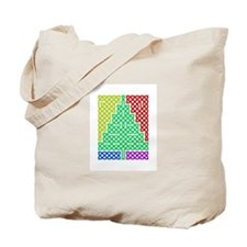 Multicolor Tree Tote Bag