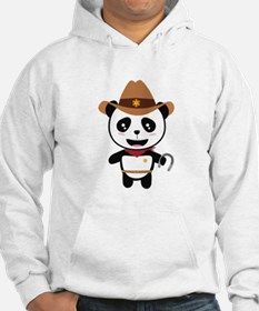 Panda Cowboy with horseshoe Ctao7 Sweatshirt