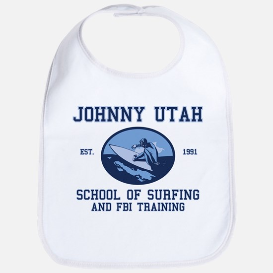 johnny utah surfing school Bib
