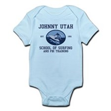 johnny utah surfing school Infant Bodysuit