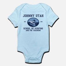 johnny utah surfing school Infant Bodysuit