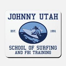 johnny utah surfing school Mousepad