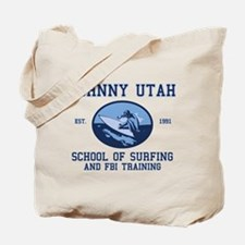 johnny utah surfing school Tote Bag