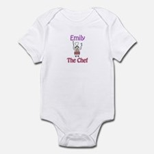Emily - The Chef Infant Bodysuit