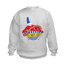 Crime Scene Cupcake Sweatshirt