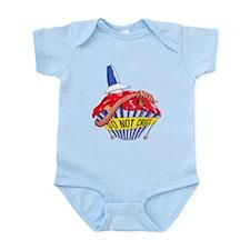 Crime Scene Cupcake Infant Bodysuit