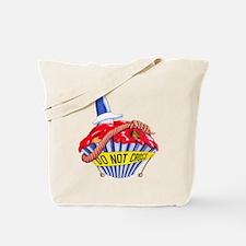 Crime Scene Cupcake Tote Bag