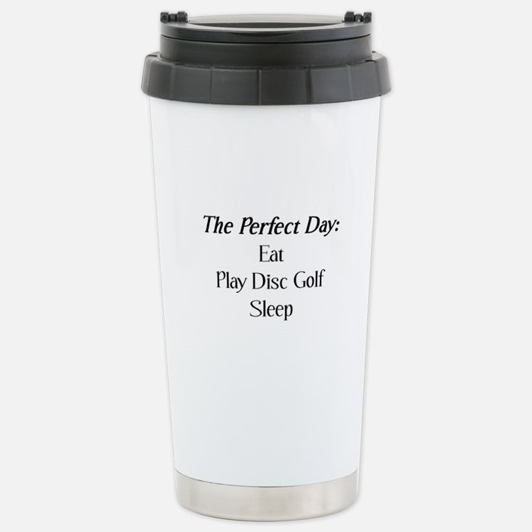 Perfect Disc Golf Stainless Steel Travel Mug