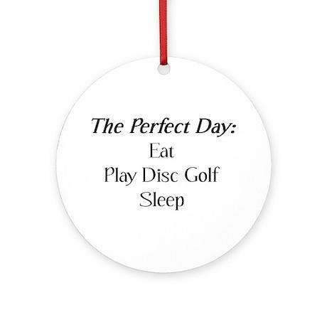 Perfect Disc Golf Ornament (Round)